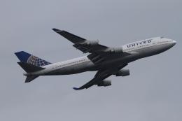 twining07さんが、ロンドン・ヒースロー空港で撮影したユナイテッド航空 747-422の航空フォト(飛行機 写真・画像)