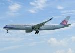 じーく。さんが、那覇空港で撮影したチャイナエアライン A350-941の航空フォト(飛行機 写真・画像)