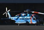 チャーリーマイクさんが、東京ヘリポートで撮影した警視庁 S-92Aの航空フォト(写真)