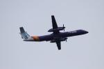 twining07さんが、ロンドン・ヒースロー空港で撮影したフライビー DHC-8-402Q Dash 8の航空フォト(写真)