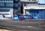 チャーリーマイクさんが、東京ヘリポートで撮影した警視庁 412EPの航空フォト(写真)