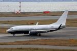 徳兵衛さんが、関西国際空港で撮影したアメリカ企業所有 737-7JR BBJの航空フォト(写真)