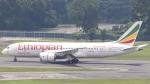 誘喜さんが、シンガポール・チャンギ国際空港で撮影したエチオピア航空 787-8 Dreamlinerの航空フォト(写真)