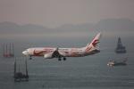 杉の裏さんが、香港国際空港で撮影した中国東方航空 737-89Pの航空フォト(写真)