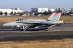 Flankerさんが、横田基地で撮影したアメリカ海兵隊 F/A-18C Hornetの航空フォト(写真)