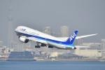 よしポンさんが、羽田空港で撮影した全日空 787-9の航空フォト(写真)