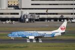 とらとらさんが、羽田空港で撮影した日本トランスオーシャン航空 737-4Q3の航空フォト(飛行機 写真・画像)