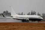 てくてぃーさんが、松山空港で撮影したアメリカ企業所有 737-7JR BBJの航空フォト(飛行機 写真・画像)