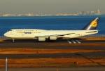on-chanさんが、羽田空港で撮影したルフトハンザドイツ航空 747-830の航空フォト(写真)