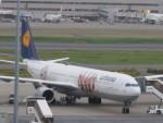 flyflygoさんが、羽田空港で撮影したルフトハンザドイツ航空 A340-642Xの航空フォト(写真)