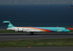 チャーリーマイクさんが、羽田空港で撮影した日本エアシステム MD-90-30の航空フォト(写真)