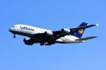 まいけるさんが、スワンナプーム国際空港で撮影したルフトハンザドイツ航空 A380-841の航空フォト(写真)