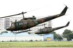 小金井原住民さんが、立川飛行場で撮影した陸上自衛隊 UH-1Jの航空フォト(写真)
