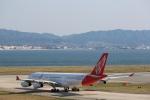 yuuki1214さんが、関西国際空港で撮影したエア・レジャー A340-212の航空フォト(写真)