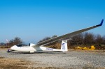 zibaさんが、妻沼滑空場で撮影した関西大学航空部 -Kansai University Soaring Club Discus bの航空フォト(写真)