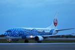 AkiChup0nさんが、那覇空港で撮影した日本トランスオーシャン航空 737-4Q3の航空フォト(写真)