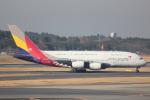 cassiopeiaさんが、成田国際空港で撮影したアシアナ航空 A380-841の航空フォト(写真)