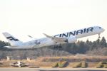 cassiopeiaさんが、成田国際空港で撮影したフィンエアー A350-941XWBの航空フォト(写真)