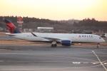 cassiopeiaさんが、成田国際空港で撮影したデルタ航空 A350-941XWBの航空フォト(写真)