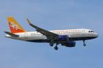 安芸あすかさんが、スワンナプーム国際空港で撮影したドゥルク航空 A319-115の航空フォト(写真)