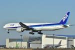 よしポンさんが、成田国際空港で撮影した全日空 777-381/ERの航空フォト(写真)