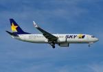 じーく。さんが、那覇空港で撮影したスカイマーク 737-81Dの航空フォト(飛行機 写真・画像)