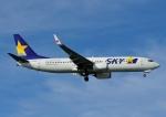じーく。さんが、那覇空港で撮影したスカイマーク 737-86Nの航空フォト(飛行機 写真・画像)