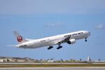 ひこ☆さんが、那覇空港で撮影した日本航空 777-346の航空フォト(写真)