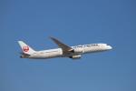 kikiさんが、成田国際空港で撮影した日本航空 787-9の航空フォト(写真)