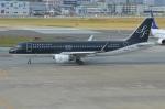 amagoさんが、福岡空港で撮影したスターフライヤー A320-214の航空フォト(写真)