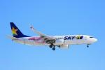 hidetsuguさんが、新千歳空港で撮影したスカイマーク 737-86Nの航空フォト(写真)
