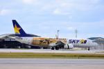 ひこ☆さんが、那覇空港で撮影したスカイマーク 737-86Nの航空フォト(写真)