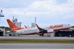 ひこ☆さんが、那覇空港で撮影したチェジュ航空 737-8ASの航空フォト(写真)