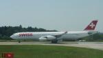 lufthansa9919さんが、チューリッヒ空港で撮影したスイスインターナショナルエアラインズ A340-313Xの航空フォト(写真)