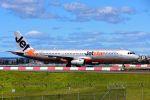 まいけるさんが、シドニー国際空港で撮影したジェットスター A321-231の航空フォト(写真)