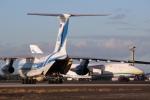 JRF spotterさんが、ダニエル・K・イノウエ国際空港で撮影したヴォルガ・ドニエプル航空 Il-76TDの航空フォト(写真)