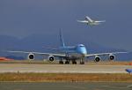 tsubameさんが、北九州空港で撮影した大韓航空 747-8B5F/SCDの航空フォト(写真)