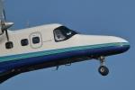 小金井原住民さんが、調布飛行場で撮影した新中央航空 228-212の航空フォト(写真)