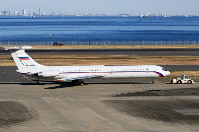 スポット110さんが、羽田空港で撮影したロシア空軍 Il-62Mの航空フォト(飛行機 写真・画像)