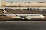 スポット110さんが、羽田空港で撮影したシンガポール航空 A350-941XWBの航空フォト(写真)