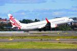 まいけるさんが、シドニー国際空港で撮影したヴァージン・オーストラリア 737-8FEの航空フォト(写真)