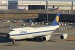 蒲田賢二さんが、羽田空港で撮影したルフトハンザドイツ航空 747-830の航空フォト(写真)