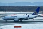 パンダさんが、新千歳空港で撮影したユナイテッド航空 737-724の航空フォト(写真)
