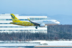 パンダさんが、新千歳空港で撮影したバニラエア A320-214の航空フォト(写真)
