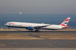 どりーむらいなーさんが、羽田空港で撮影したブリティッシュ・エアウェイズ 777-336/ERの航空フォト(写真)