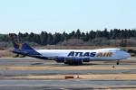 にしやんさんが、成田国際空港で撮影したアトラス航空 747-87UF/SCDの航空フォト(写真)