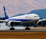 ザキヤマさんが、熊本空港で撮影した全日空 777-281/ERの航空フォト(写真)