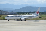 kumagorouさんが、徳島空港で撮影した日本航空 737-846の航空フォト(飛行機 写真・画像)