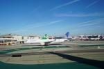 てつさんが、ロサンゼルス国際空港で撮影したユナイテッド航空 757-224の航空フォト(写真)