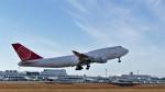 Koj-skadb2116さんが、鹿児島空港で撮影したエア・カーゴ・グローバル 747-433M(BDSF)の航空フォト(写真)